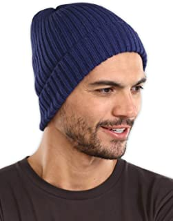 Winter Beanie Knit Hats for Men & Women - Warm, Stretchy & Soft Cold Weather Stylish Toboggan Skull Caps - Serious Cuff Beanies Watch Cap for Serious Style