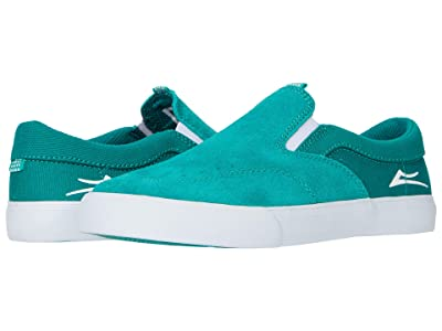 Lakai Owen (Little Kid/Big Kid) (Jade Suede) Men