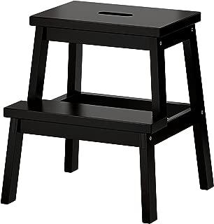 IKEA BEKVAM Wooden Utility Step by Ikea, Black