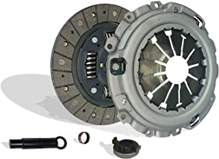 Clutch Kit works with Set Acura Csx Rsx Civic Type-S Si Base Coupe 2006-2011 2.0L l4 GAS DOHC Naturally Aspirated (6 Speed Trans; Flywheel Spec: 0.047+)