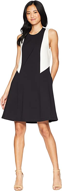 Color Block Ponte Dress