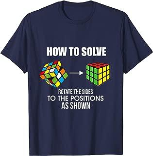 melting rubiks cube shirt