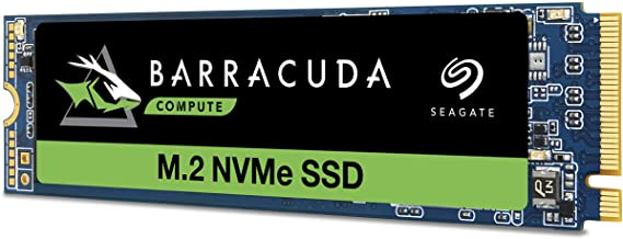 Seagate Barracuda 510 1TB SSD Internal Solid State Drive – PCIe Nvme 3D TLC NAND for Gaming PC Gaming Laptop Desktop (ZP10...