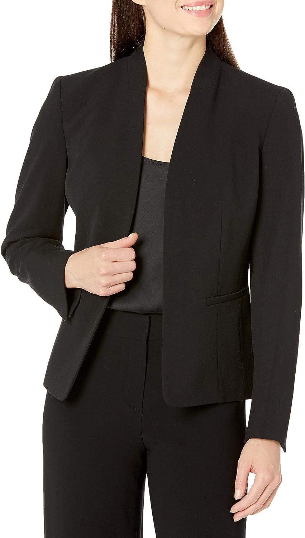 NINE WEST Women's Long Kissing Front Jacket