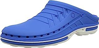 WOCK 中性款成人洞鞋 白色/中号 蓝色 UK