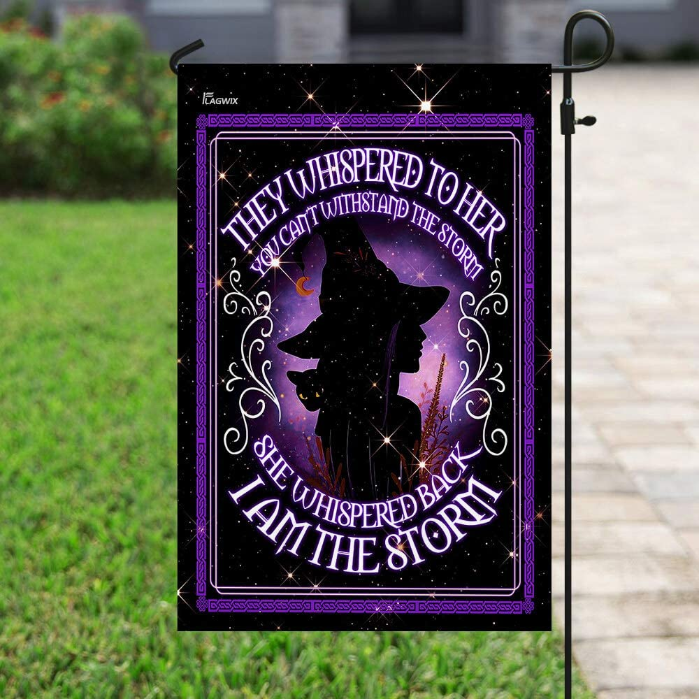 Flags-I Am The Storm Witch Flag PN685F x House 期間限定 39.5 29.5