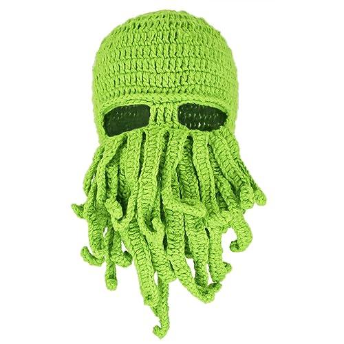 27056c323fd Crochet Cthulhu Octopus Hat Beanie Ski Mask