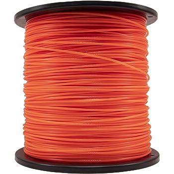 KAKO Commercial Grade Round .095-Inch Nylon String Lawn Trimmer Line for String Trimmer Weed Trimmer 5-Pound,1280-ft String Trimmer Line in Spool( Orange)