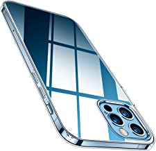 TORRAS Crystal Clear Compatible with iPhone 12 Pro Max Case 6.7 Inch 5G (2020 Release), Ultra Thin Slim Shockproof Flexibl...