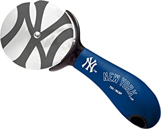 The Sports Vault MLB New York Yankees PZMLB19Pizza Cutter, Multi, One Size