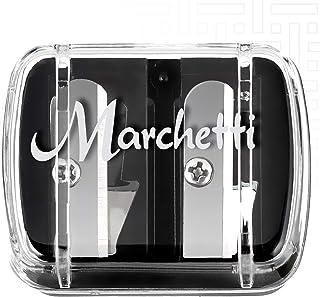 Marchetti Apontador de Lápis Ref 0001, Adaptável: U e G, Preto