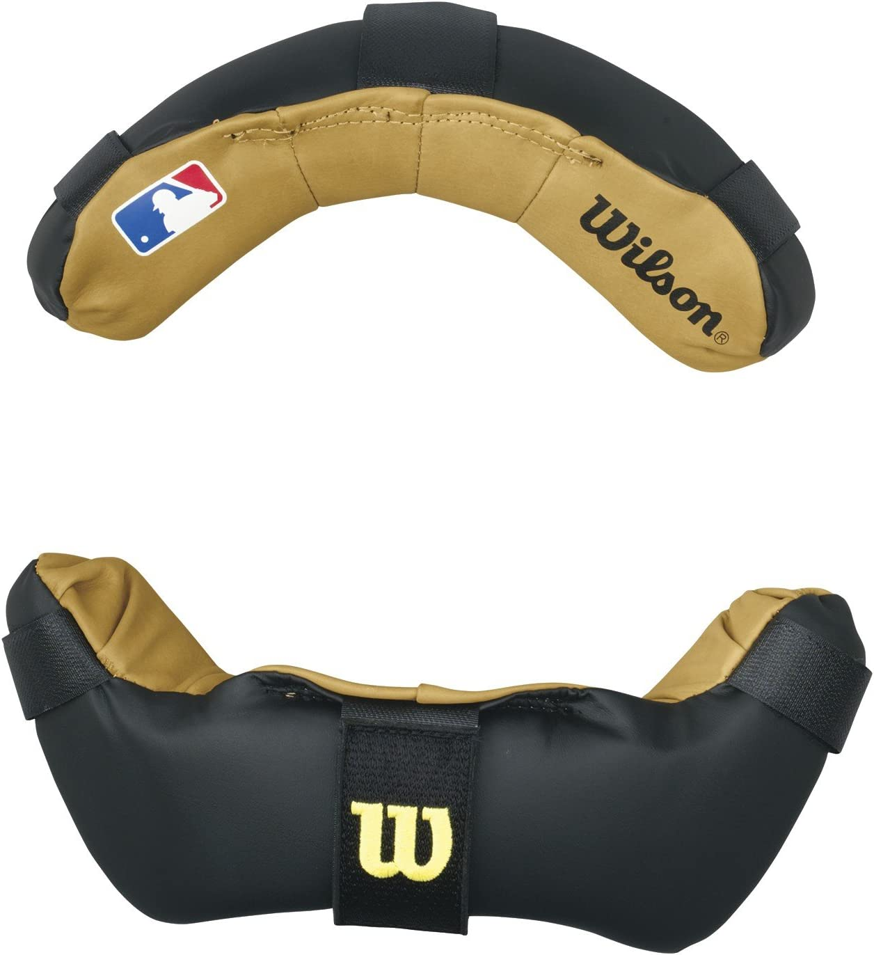 Wilson 3816 Non Be super welcome Wrap Around Replacement We OFFer at cheap prices Umpire Black Pads