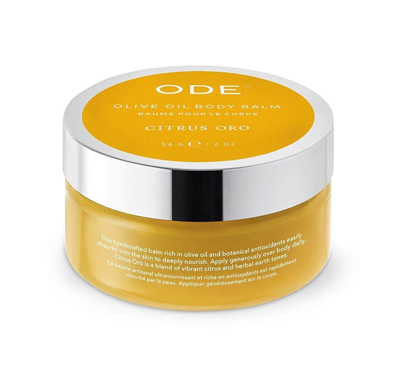 ODE natural beauty - Citrus Oro Olive Oil Body Balm