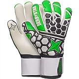Derbystar APS Hexagrip Pro II Handschuhe Unisex, Gruen grau Weiss, 10.5