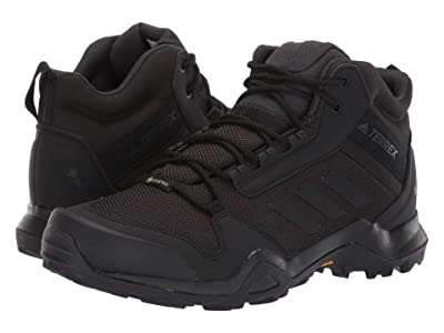 adidas Outdoor Terrex AX3 Mid GTX (Black/Black/Carbon) Men