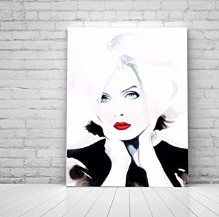 Blondie Fine Art Print Punk Rock 80s Vintage Fashion Icon