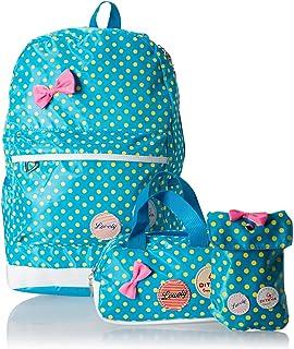 ثلاث قطع على ظهره شنطة مدرسية للماء أزياء لطيف طفل الفتيات حقيبة يد حقيبة shub9 الأزرق