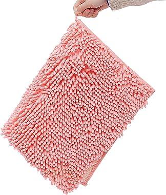 SKYGC Alfombras de baño Alfombrilla Antideslizante Alfombras de baño de felpilla Suave para Cuarto de Ducha Lavable a máquina