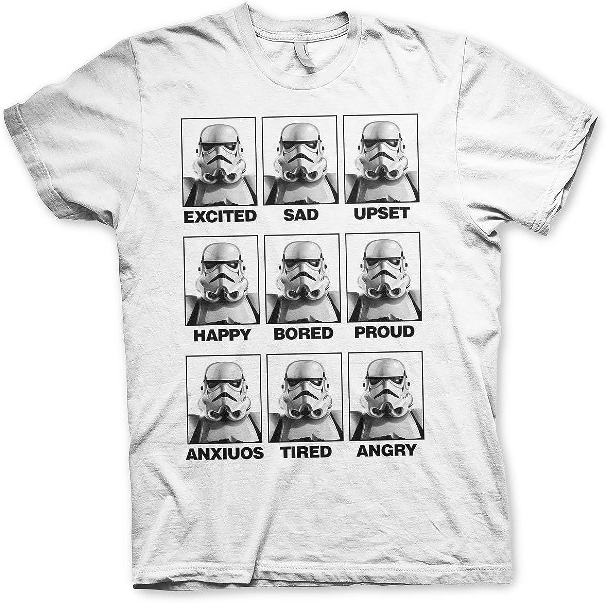 MEN/'S OFFICIAL MERCHANDISE Star Wars Storm Trooper County Jail t shirts
