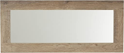 Household Essentials 8078-1 Ashwood Rectangular Wall Mirror