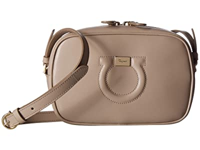 Salvatore Ferragamo City Crossbody (Cumin) Cross Body Handbags