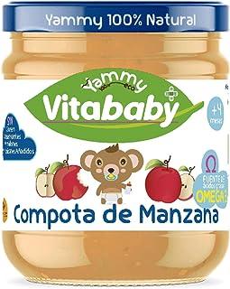 Yammy Tarrito de Compota de Manzana Farmacia 195 gr x 12 uds 4M+ 4000 g