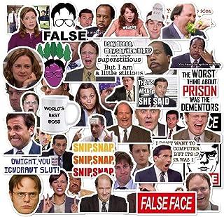 حزمة ملصقات المكتب من 50 ملصق - ملصقات مكتب لأجهزة الكمبيوتر المحمول، ملصقات الكمبيوتر المحمول المكتبية، ملصقات مضحكة لأجه...