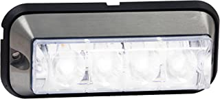 Buyers Products 4.875 Inch Clear Rectangular LED Strobe Light (8891006)
