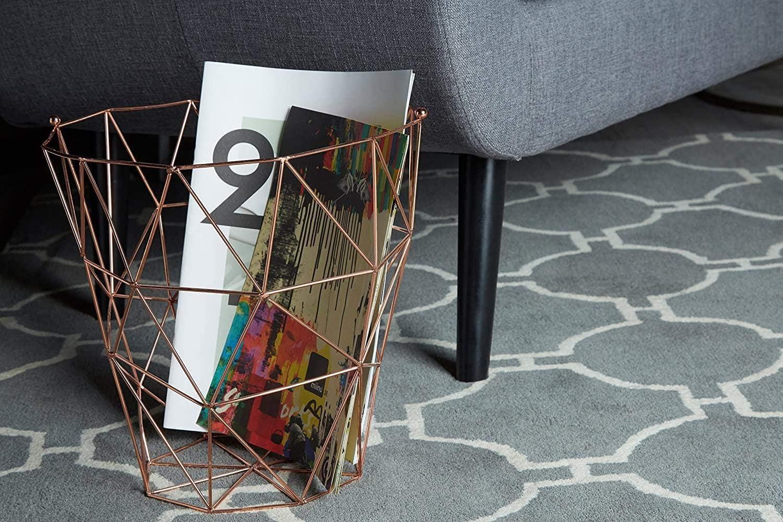 ABO Premier HousewaresCuivre, Dessous de Plat Vertex 22 cm Storage Basket