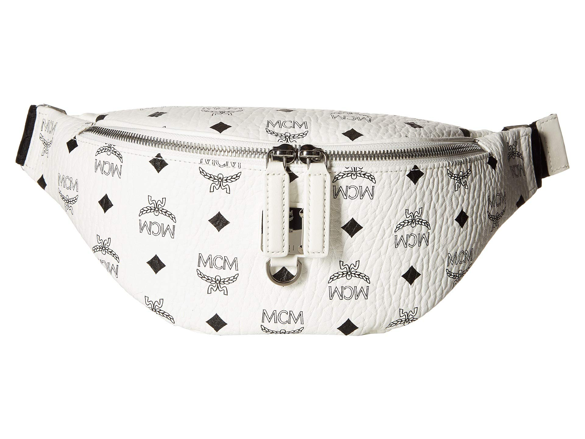 Mcm Belt Fursten Small Bag White Visetos gEgqwr46