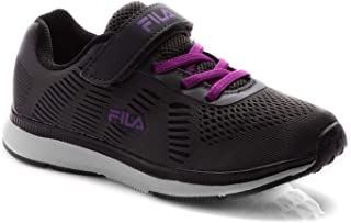Fila Girls Memory Galaxy V Ps ' Running Shoes Grey in Size UK 12 UK Child
