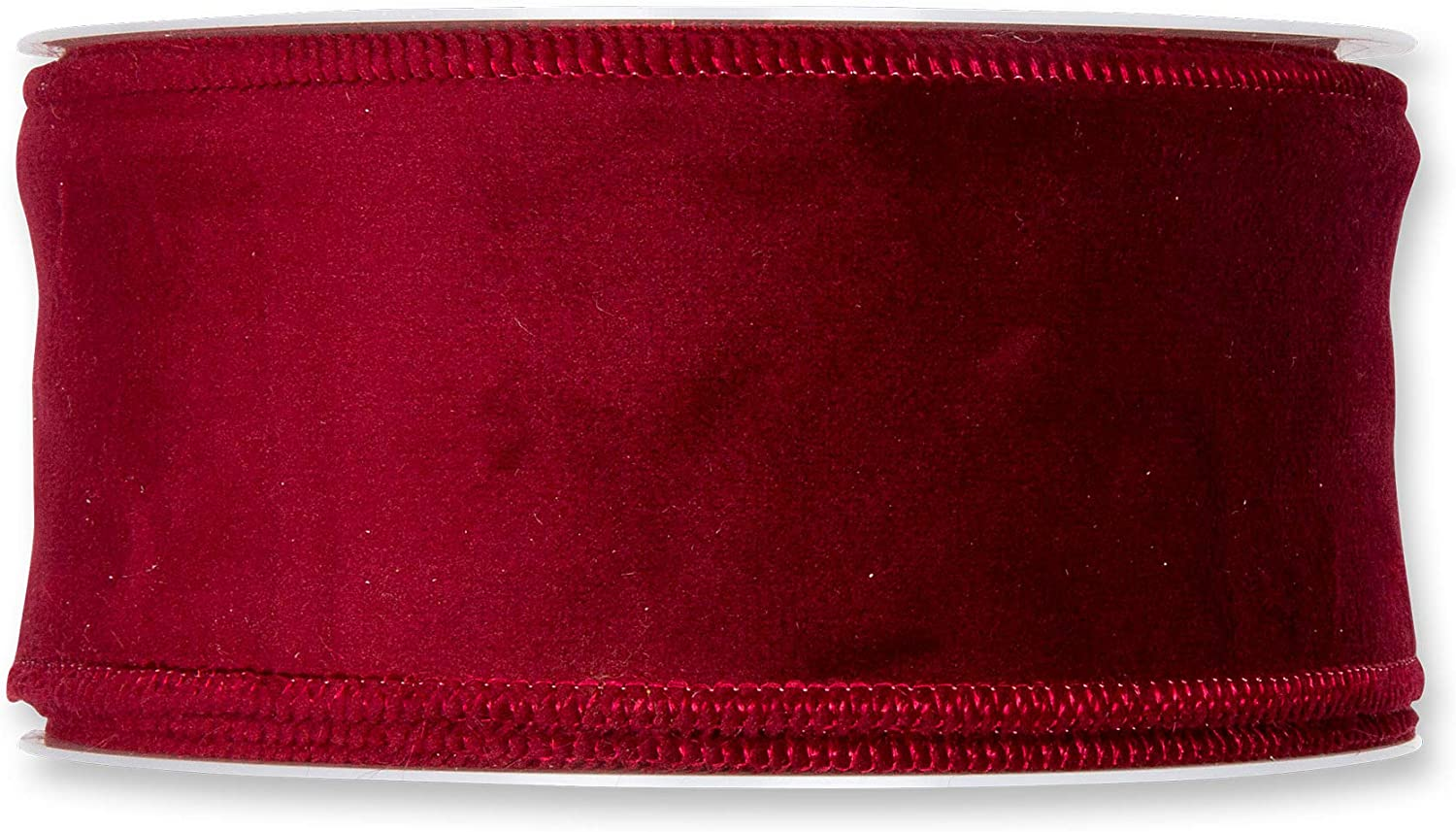 FloristryWarehouse Burgundy Red Fashionable Christmas Velvet All items in the store Ribbon Fabric 2