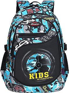 الحقائب المدرسية الابتدائية للبنين مقاوم للماء كتب التمويه حقيبة الظهر الطالب الابتدائي الصبي المدرسة