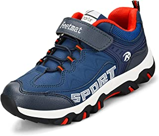 ZOCAVIA Boys & Girls' Running Shoes Athletic Waterproof Breathable Hiking Sneakers Kids