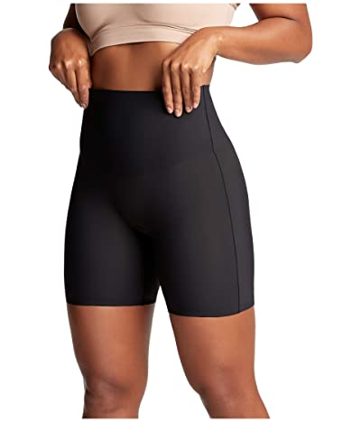 Yummie Bonded Shaping Caroline Mid-Waist Shorts (Black) Women