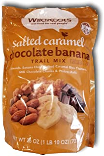 Wild Roots Salted Caramel Chocolate Banana Trail Mix 26oz (1)