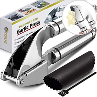 Orblue Pro Presser Stainless Steel Kitchen Garlic Press