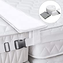 MASCARRY Bed Bridge Twin to King Converter Kit - Mattress Extender Set to Make Twin Beds Into King Connector - Twin Bed Connector King Maker & Connector Strap for Guests Stayovers & Family Gatherings
