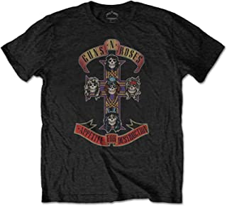 Limited Stock Band T-Shirt All Over Vintage Logo Design Guns /& Roses