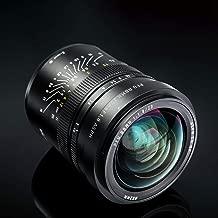 20mm f/1.8 Wide-Angle Full Frame Manual Focus Prime Lens for Nikon Z-Mount, Black