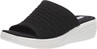 RYKA Women's Nanette Slide Sandal, Black, 6 W US