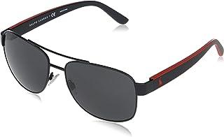 Ralph Lauren - POLO 0PH3122 Gafas de sol, Matte Black, 59 para Hombre