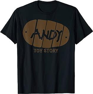 Pixar Andy Footprint Logo T-Shirt