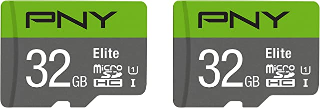 PNY 32GB Elite Class 10 U1 microSDHC Flash Memory Card...