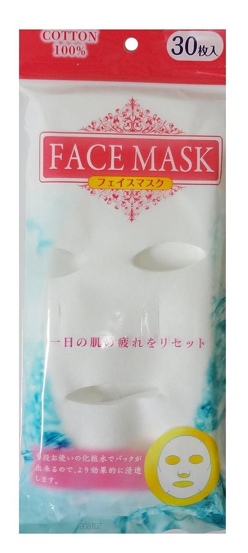 オーバーコート熟練したステッチ奥田薬品 フェイスマスク 30枚入