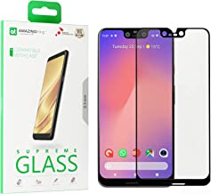 Amazing Thing For Google Pixel 3 XL Fully Covered Glass Screen Protector - Tempered Supreme Glass 2.5D
