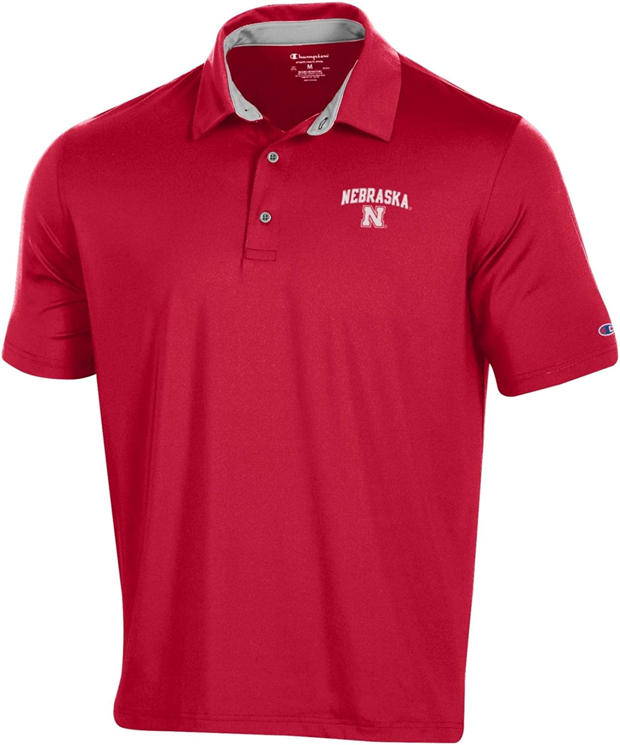 Champion NCAA Mens Solid Polo