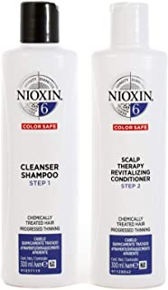 Nioxin System 6 Duo Pack, Cleanser 300ml and Scalp Therapy Revitalising Conditioner 300ml