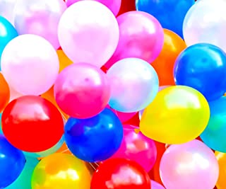 PartyParty Bulk Party Balloons. 100 Count Color Variety Pack