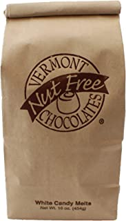 Vermont Nut Free Chocolates Candy Melts (White Chocolate) 16 oz, 2 Bags